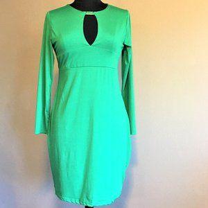 Sexy, Simple, Emerald Green Dress
